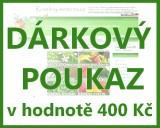 Dárkový poukaz v hodnotě 400 Kč k odběru semen a osiv