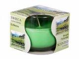 Svíčka vonná ve skle/zelený čaj/