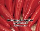 Paprika kořeninová sladká - Hodonínská - semena papriky 0,6g