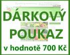 Dárkový poukaz v hodnotě 700 Kč k odběru semen a osiv